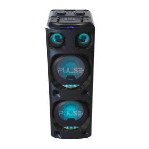 Caixa de Som Amplificada Torre Double SP500 Multilaser, Bluetooth, USB, AUX, P10