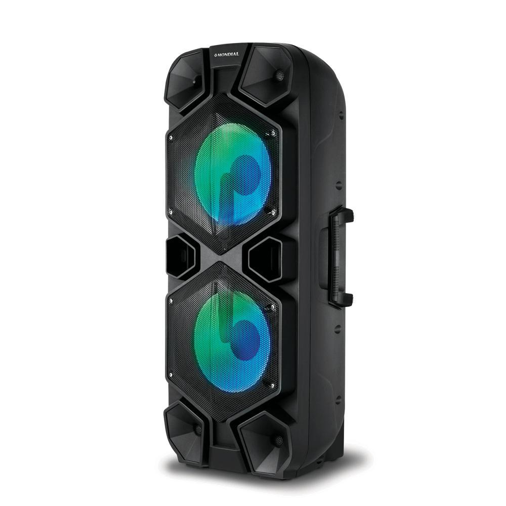Caixa Amplificadora Mondial CM 15, Bluetooth, USB, Entrada Auxiliar – 1000W