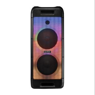 Caixa Amplificada Extreme Colors LED GCL105, 500W, Bluetooth, P2, P10, SD, USB