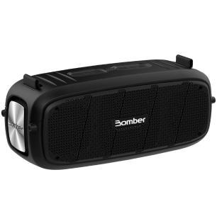 Caixa de Som Bomberbox I Bomber, 55W RMS, Bluetooth, USB, P2, Resistente a Água