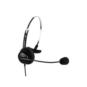 Headset Intelbras CHS40 RJ9, Microfone flexível - Preto