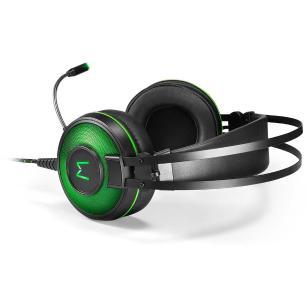 Headset Warrior Ph259 Raiko USB 7.1 - Verde/Preto