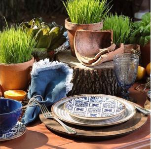 Prato Sobremesa Asteca 1