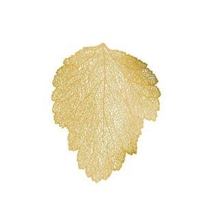 Jogo Americano Leaf Dourado