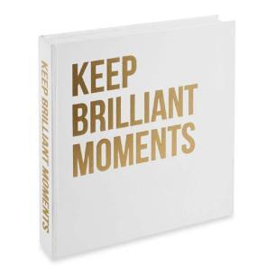 Livro Caixa Keep Brilliant Moments