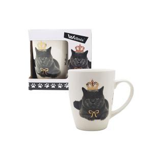 Caneca Gato porcelana