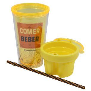 Copo Compartimento Comer Beber