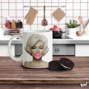 Caneca Retrô Marilyn Monroe