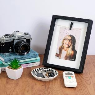 Porta Retrato Clip Glitter