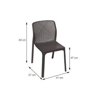 Cadeira VEGA sem Braço - Or Design