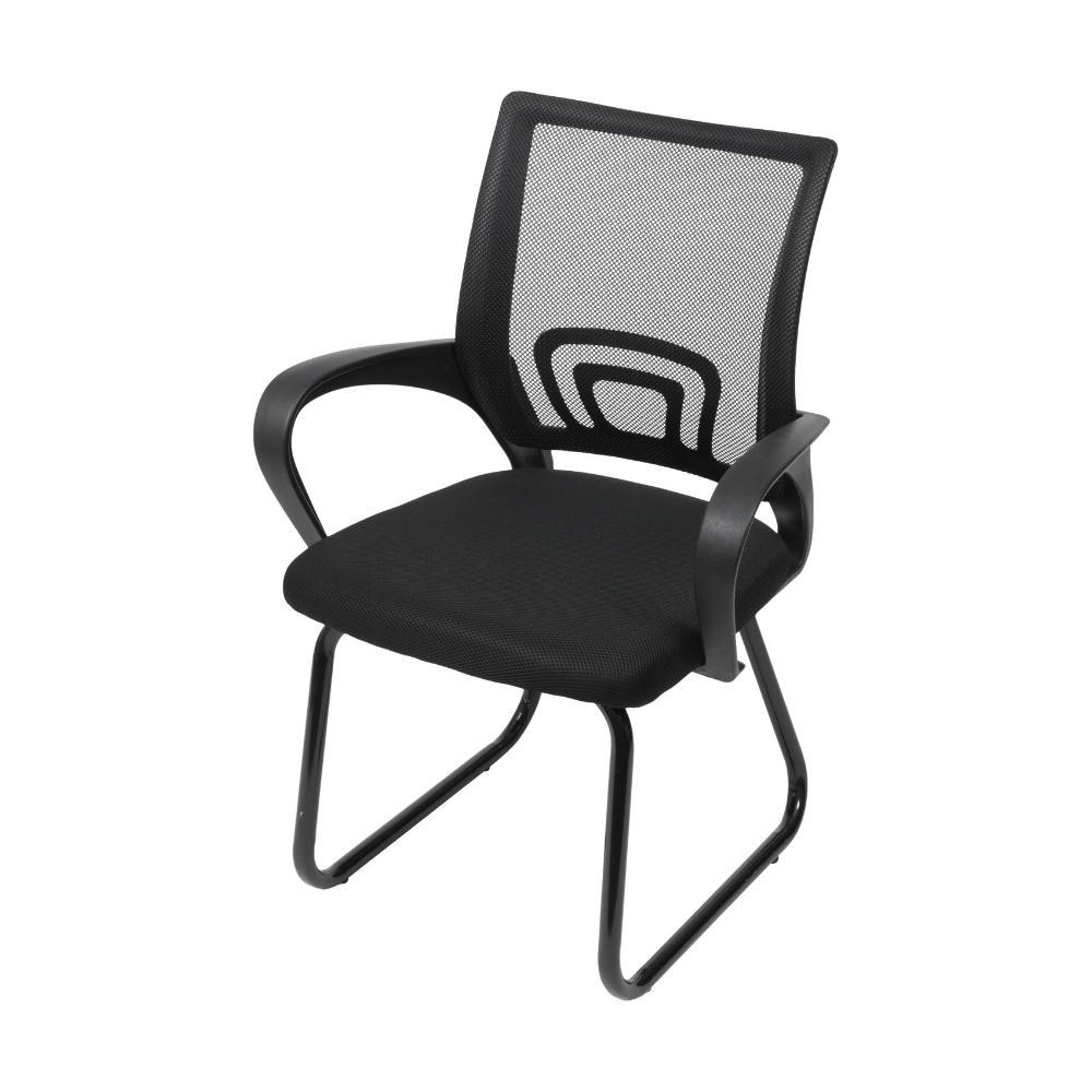 Cadeira Tok Fixa Preta - Or Design