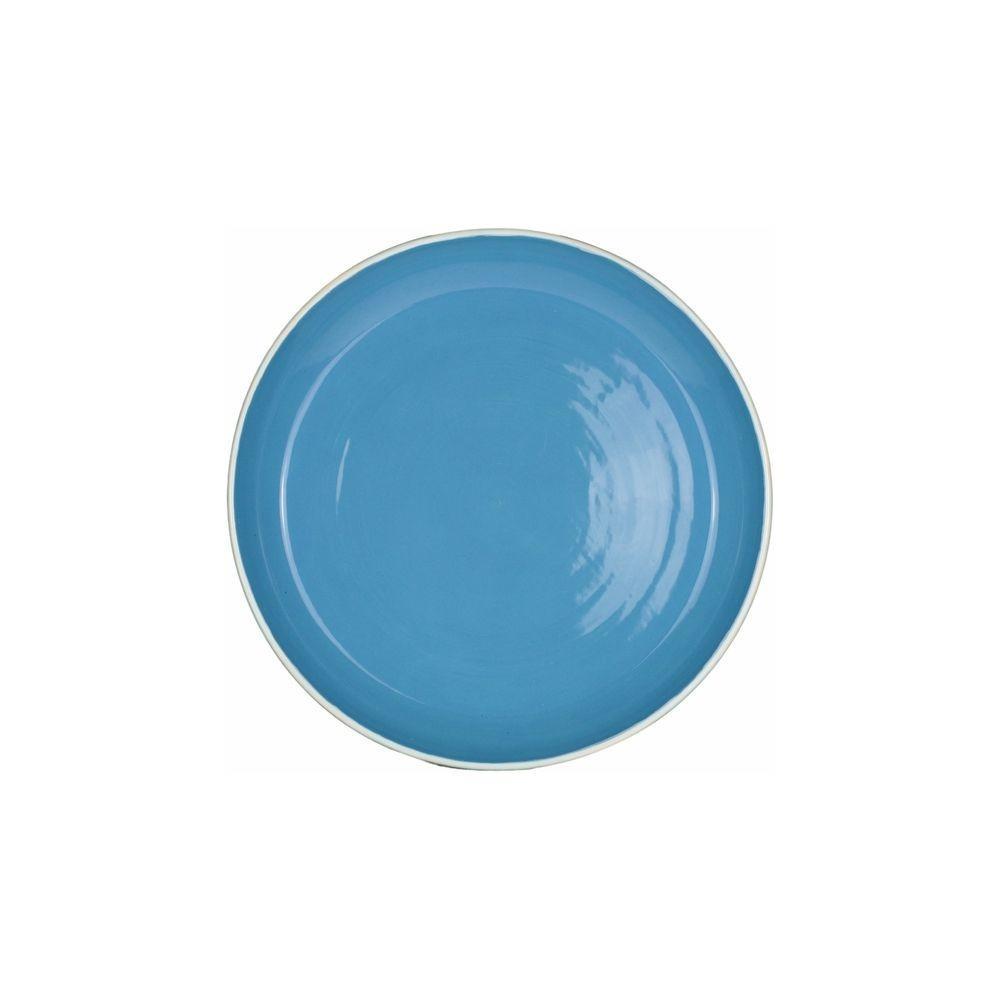 Prato De Sobremesa 21cm Santorini Azul