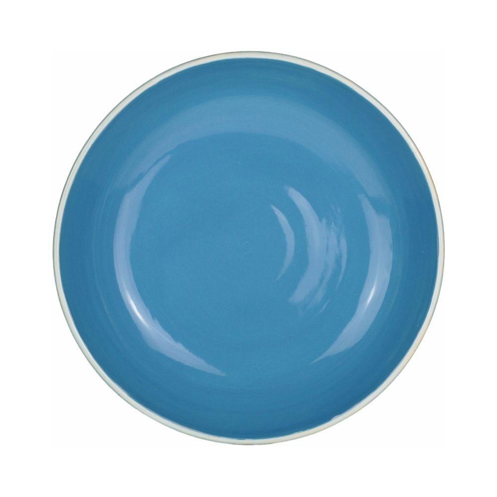 Prato Raso 26cm Santorini Azul
