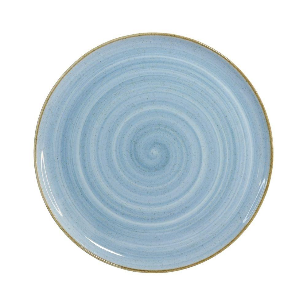 Prato Raso 28cm Artisan Azul