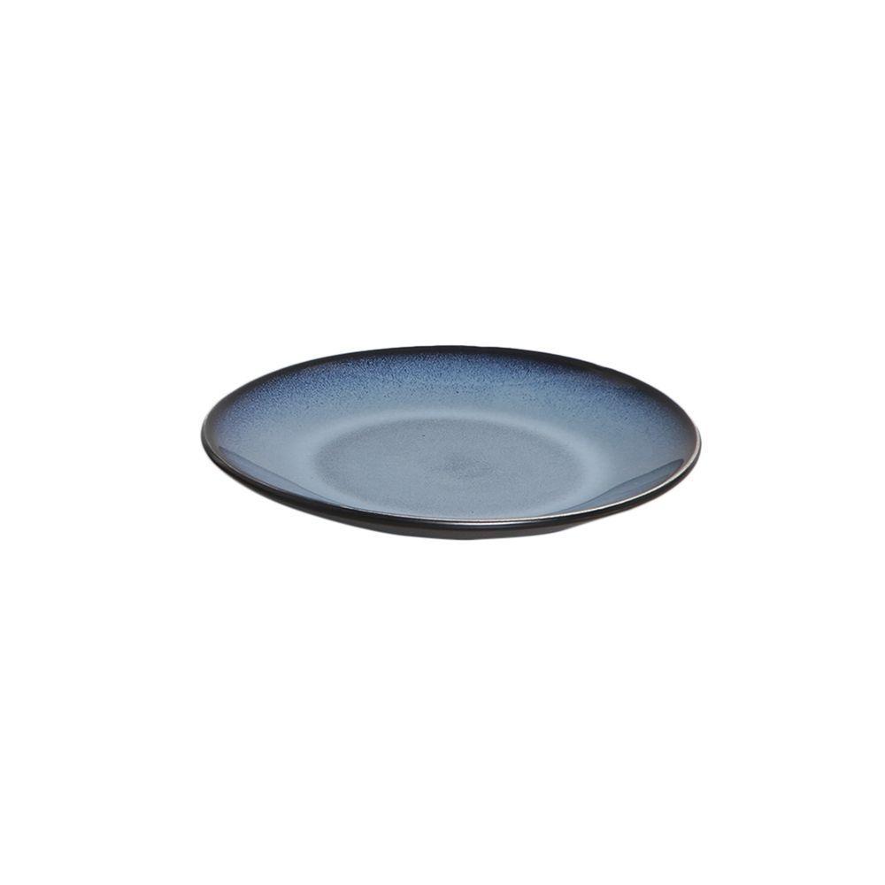Prato De Sobremesa 20cm Planet Rf Azul