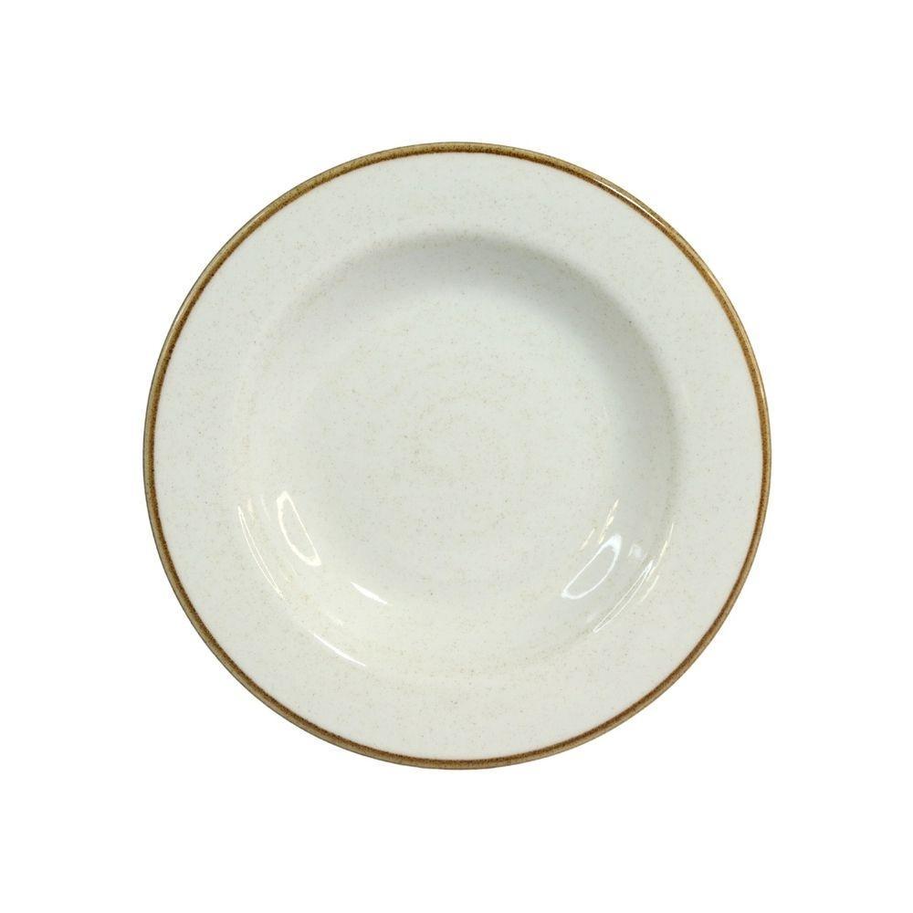 Prato Fundo 23,5cm Artisan Branco 340ml