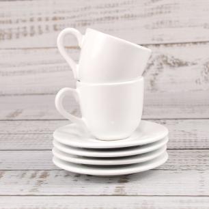 Xícara De Café Linha Reta Branco