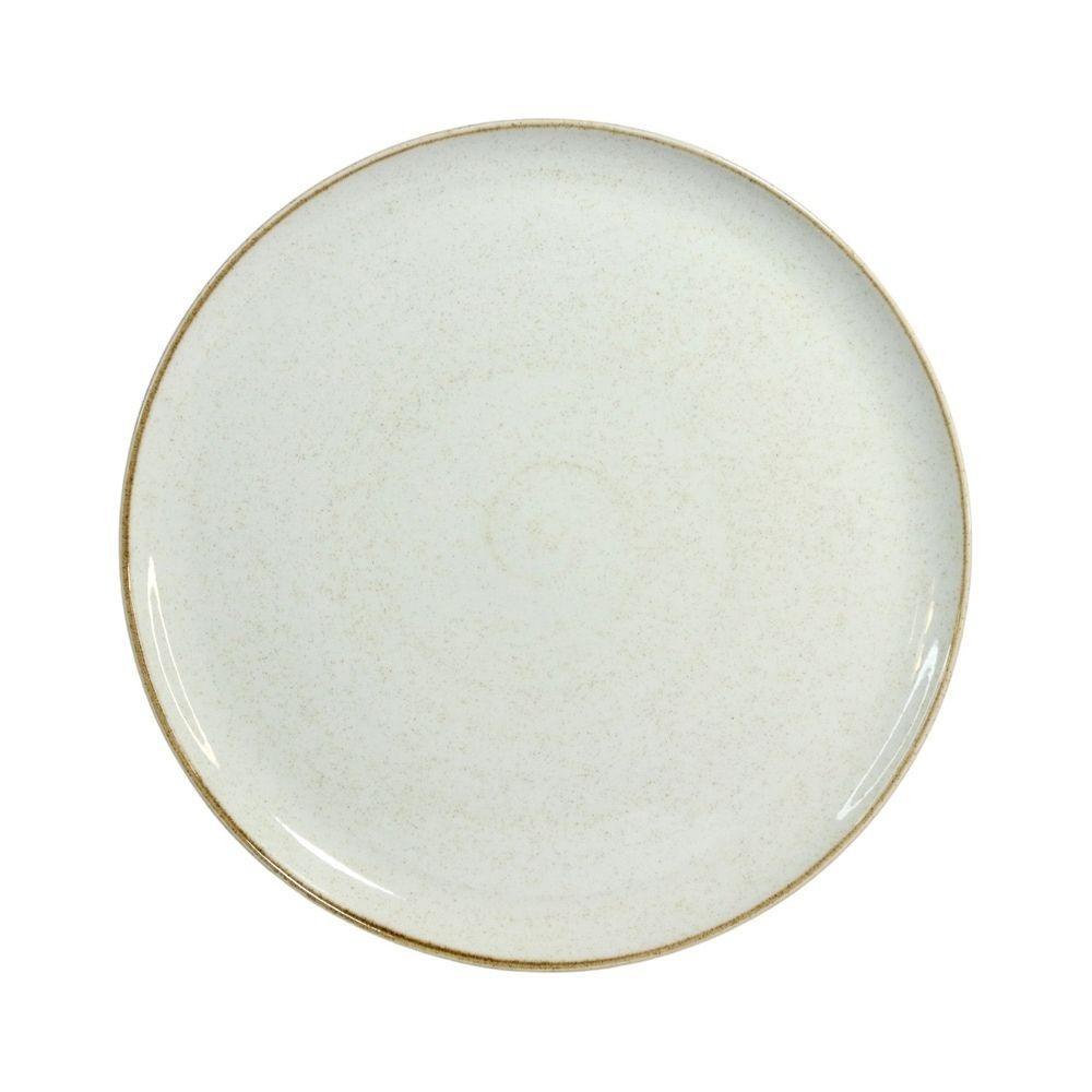 Prato Raso 28cm Artisan Branco