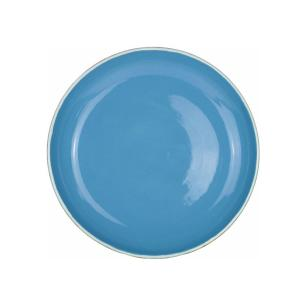 Prato Fundo 24cm Santorini Azul