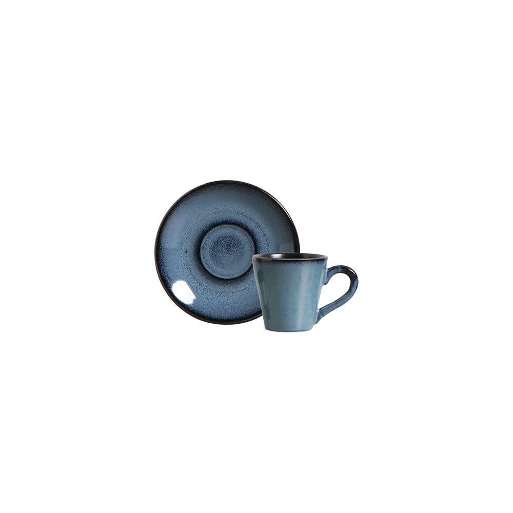 Xícara De Café Planet Rf Azul