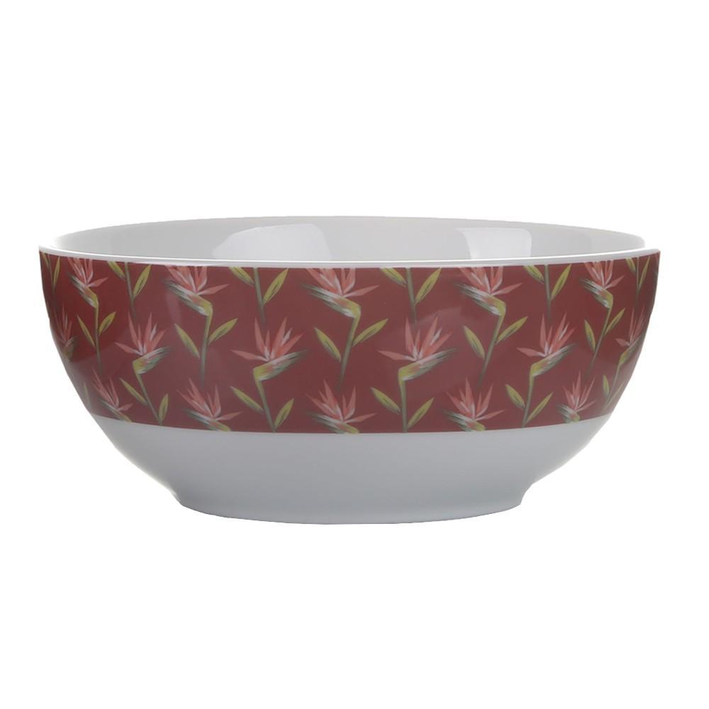 Bowl de Porcelana Paraiso Vinho BOWL051 - Casambiente