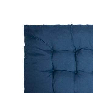 Almofada Futon Azul Marinho 40x40cm - Casambiente ALM01-Azul
