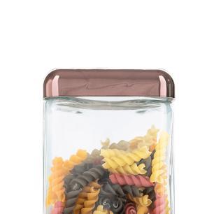 Pote de Vidro Tendenza 1,3L Rose Gold - Invicta