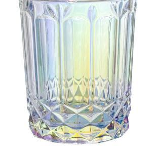 Jogo de Copos de Vidro Lumini Transparente Furta-cor 380ml - Casambiente COPO096