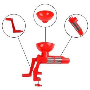 Moedor e Espremedor Manual Molho de Tomate - 123 Útil  UD463