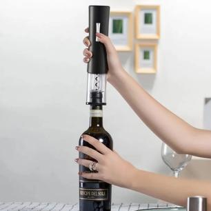 Abridor de vinho saca rolha elétrico - Livon  REF.:4430