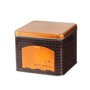 Lata Decorativa Porta Cápsulas Coffee Beans - Lyor  REF:1531