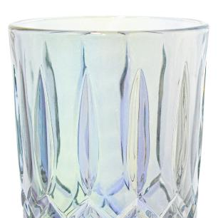 Jogo de Copos de Vidro Barroco Transparente Furta-cor 380ml - Casambiente COPO086