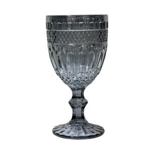 Jogo de Taças de Vidro Lumini Fumê Espelhada 350ml - Casambiente TCVI086