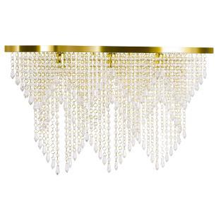 Kit 1 Império Cristal Crilik Pl7204 + 2 Ls7202 Dourado
