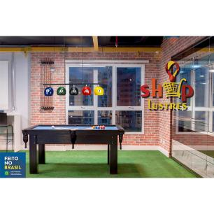Kit 2 Ls7600 Mesa de Sinuca/Bola de Bilhar/Snooker balls + Lamp
