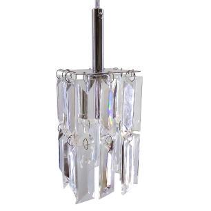 Kit 4 Lustre 7401/1 Cromado c/Lamp.s