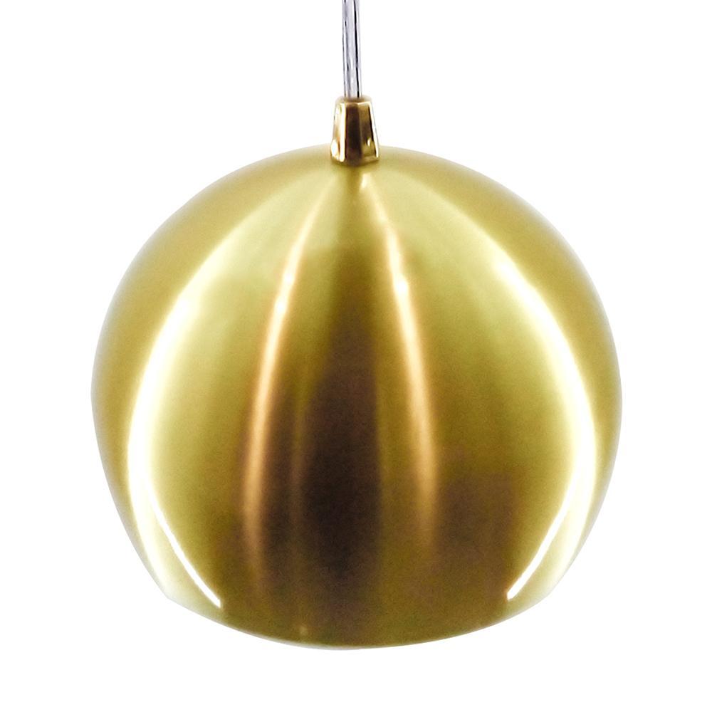 Pendente Bola Dourado Escovado /1 3011