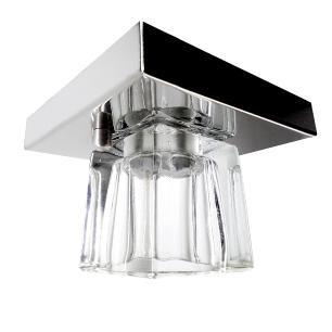 Kit 1 Plafon 7013 + 1 Plafon 7011 c/Lamp. G-9 Cromado