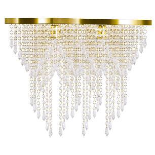 Kit 1 Império Cristal Crilik Pl7203 Dourado c/Lamp.