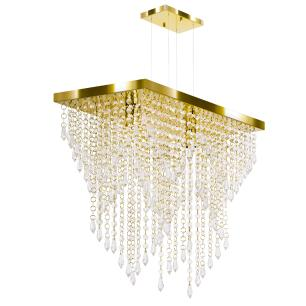 Kit 2 Império Cristal Crilik Ls7203 Dourado