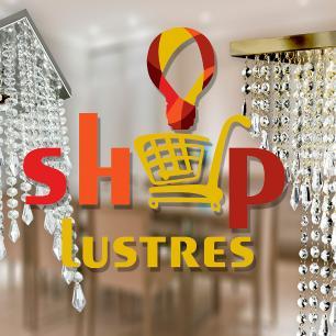 Lustre Pendente Plafon Redondo Cristal Crilik Ls7302 Dourado