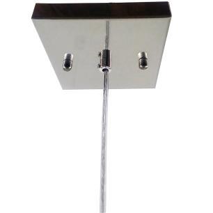 Kit 1 Pendente 7021 c/Lamp. G-9 Cromado