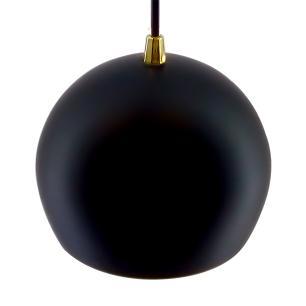 Pendente Bola Preto/Dourado /1 3001