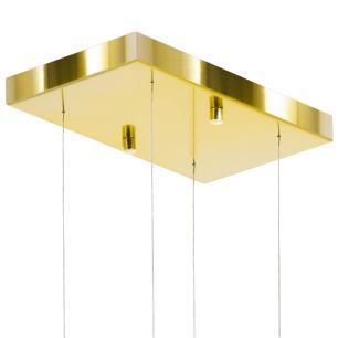 Kit 1 Império Cristal Crilik Ls7203 + 2 Pl7202 Dourado