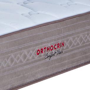 Colchão Queen Orthocrin Molas Ensacadas Confort Visco