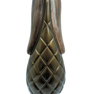 Garrafa Decorativa em Alumínio Valence 83x20x14cm