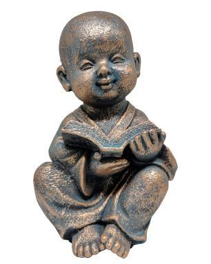 Estatueta Decorativa de Resina Valence Buda 18x15x30cm