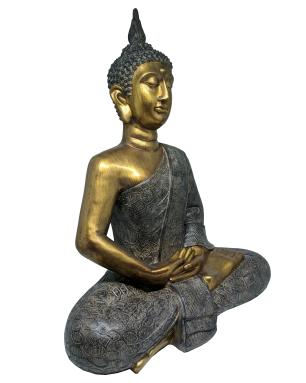 Estatueta Decorativa Valence Buda 49,5x27,5x61,5cm
