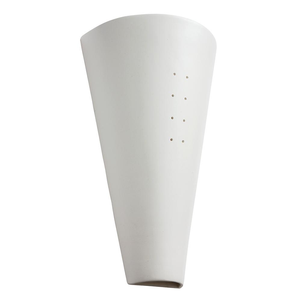Arandela de Cerâmica Arujá Branco