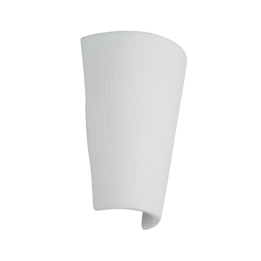 Arandela de Cerâmica Mask Branco